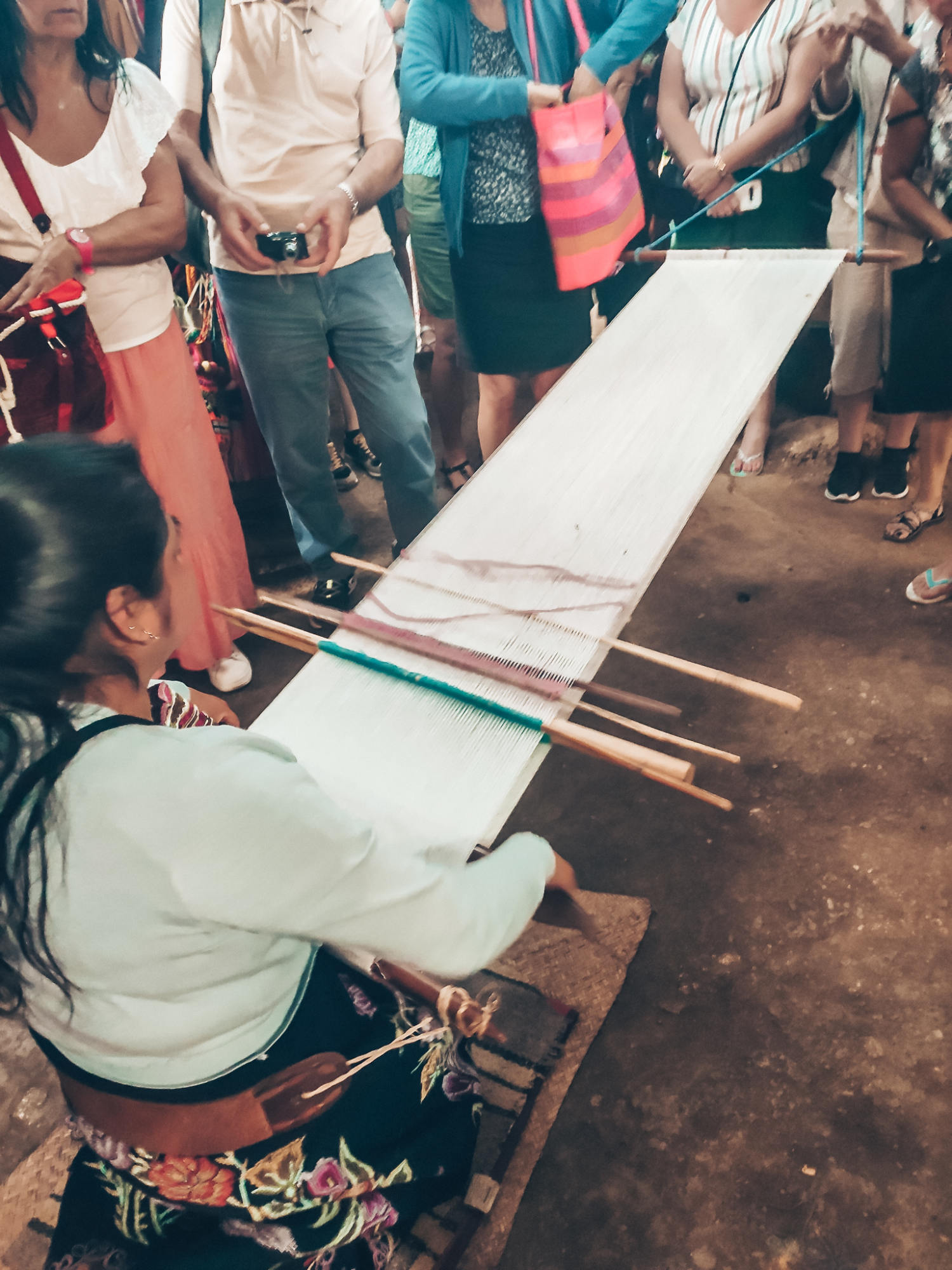 tissage maya, mexique