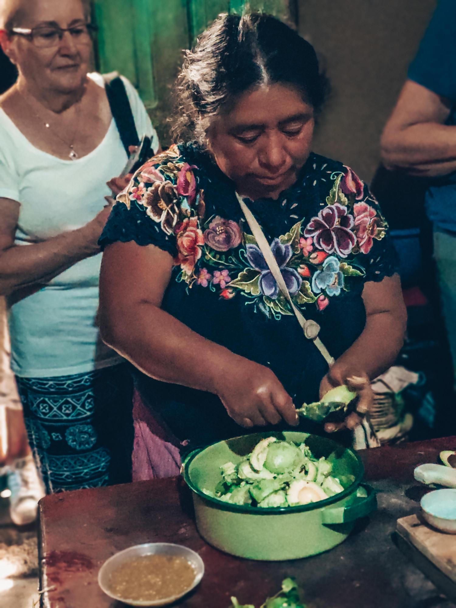 transmettre leur culture maya