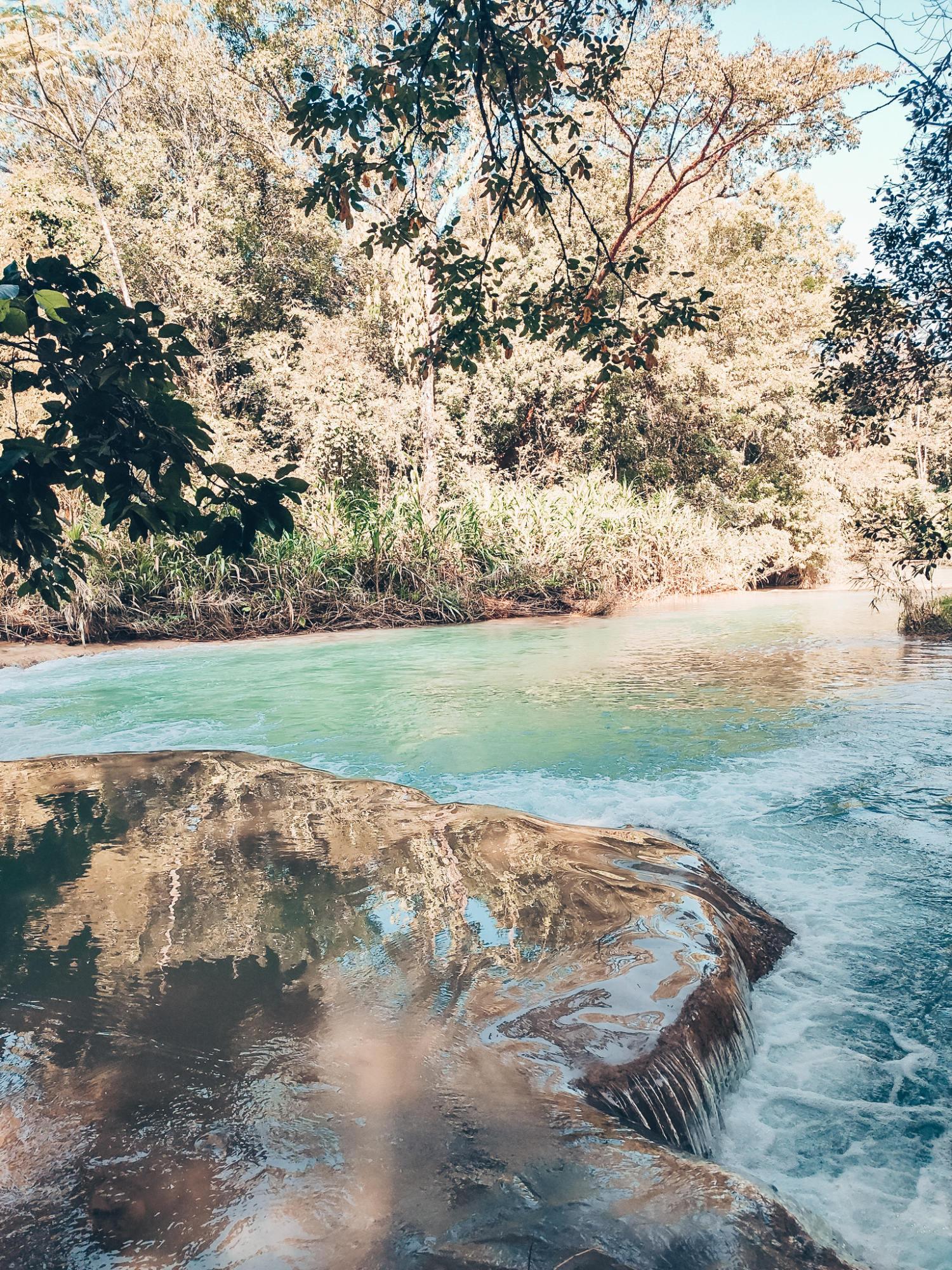 agua azul, mexique